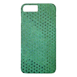 緑のスパンコール iPhone 8 PLUS/7 PLUSケース