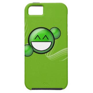 緑のスマイル iPhone SE/5/5s ケース