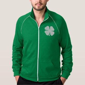 緑のセントパトリックの日のジャケット|の幸運なアイルランドのクローバー ジャケット
