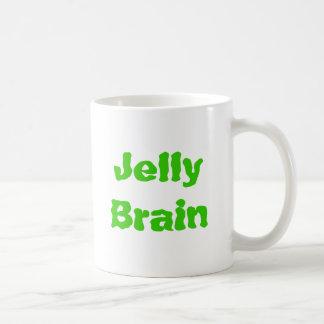 緑のゼリーの頭脳のマグ コーヒーマグカップ