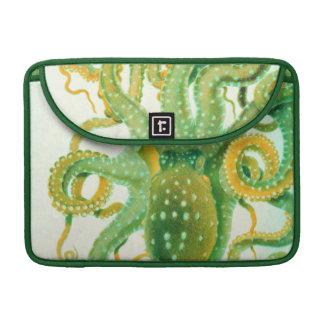 緑のタコ MacBook PROスリーブ