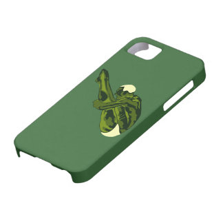 緑のダイバーのiPhone 5カバー iPhone SE/5/5s ケース
