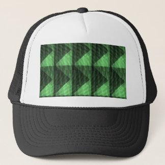 緑のダイヤモンドのピラミッドの切口のギフトの低価格の店 キャップ