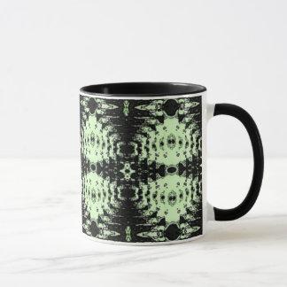 緑のダイヤモンド マグカップ