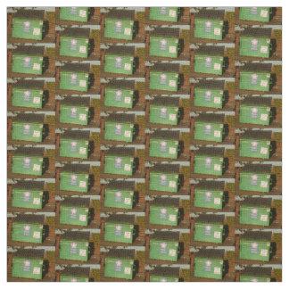 緑のダンプスター ファブリック