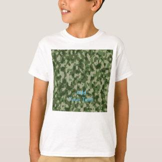 緑のツンドラ迷彩柄 Tシャツ