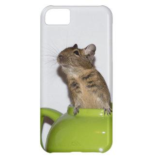 緑のティーポットのDegu iPhone5Cケース