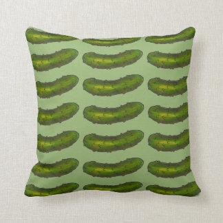 緑のディル・ピクルスはディルの食糧グルメの枕をピクルスにします クッション