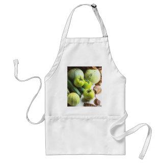 緑のトマトおよびメロン スタンダードエプロン