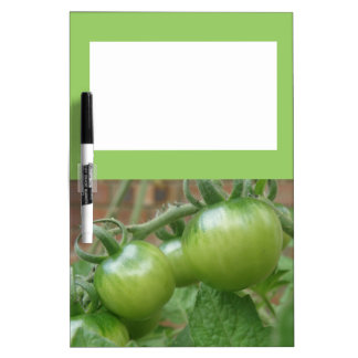 緑のトマトのメモ板 ホワイトボード