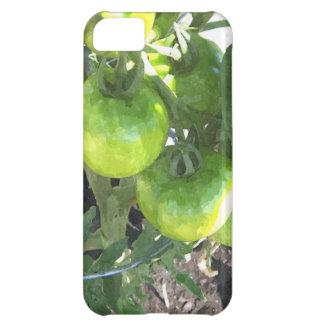 緑のトマト iPhone5Cケース