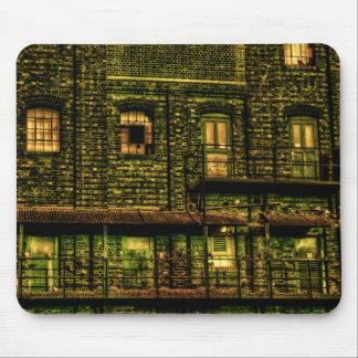 緑のドア マウスパッド