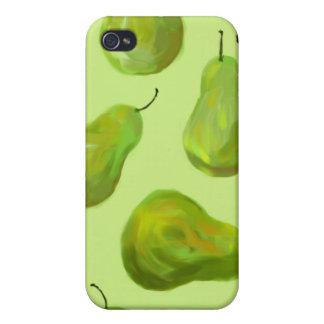 緑のナシの元の芸術のiphone 4ケース iPhone 4/4Sケース