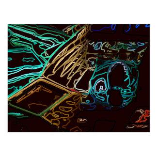 緑のネオンレーンジャー ポストカード
