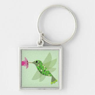 緑のハチドリ キーホルダー