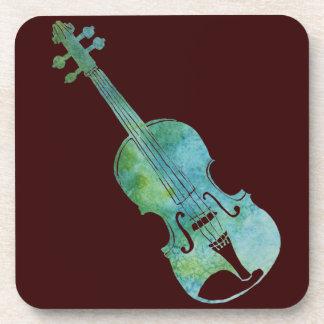 緑のバイオリン コースター