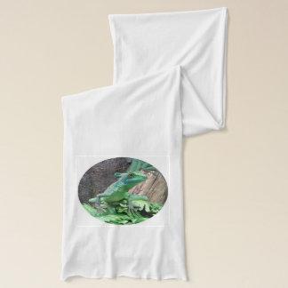 緑のバジリスク スカーフ
