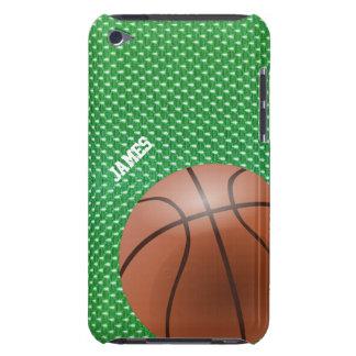 緑のバスケットボールのカスタムなipod touchの場合 Case-Mate iPod touch ケース