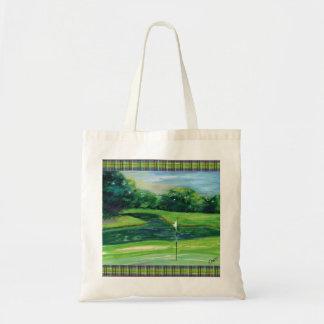 緑のバッグ トートバッグ