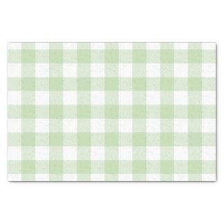 緑のバッファローの点検パターン 薄葉紙