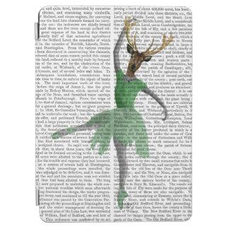緑のバレエのシカ iPad AIR カバー