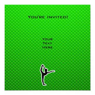 緑のバレエ カード