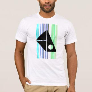 緑のバーコード Tシャツ