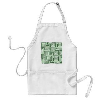 緑のパズル スタンダードエプロン