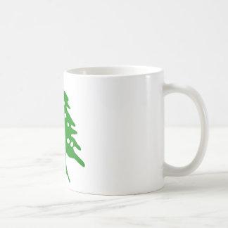 緑のヒマラヤスギ/レバノンのヒマラヤスギ コーヒーマグカップ