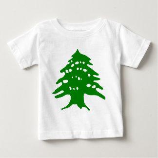 緑のヒマラヤスギ/レバノンのヒマラヤスギ ベビーTシャツ