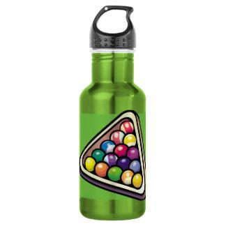 緑のビリヤード; プール ウォーターボトル