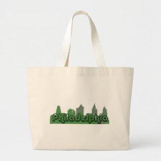 緑のフィラデルヒィア ラージトートバッグ