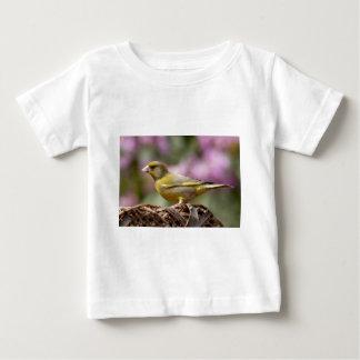 緑のフィンチ ベビーTシャツ