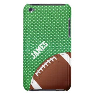 緑のフットボールのカスタムなipod touchの場合 Case-Mate iPod touch ケース