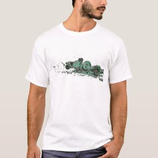 緑のフルート Tシャツ