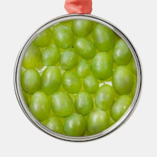 緑のブドウ メタルオーナメント