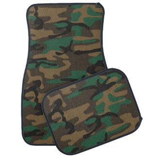 緑のブラウンの軍の迷彩柄のカムフラージュ カーマット