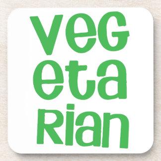 緑のベジタリアン コースター