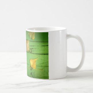 緑のベンチLeaves.jpg コーヒーマグカップ