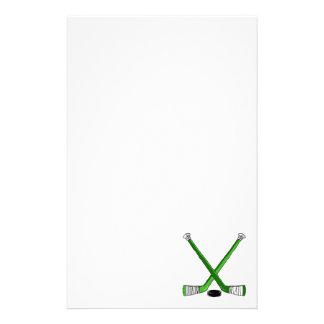 緑のホッケー 便箋