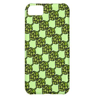 緑のホツプの植物ビール iPhone5Cケース