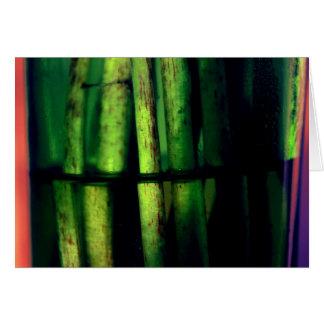 緑のマクロ カード