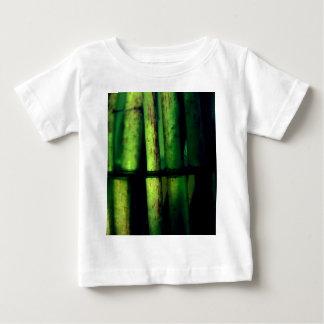 緑のマクロ ベビーTシャツ