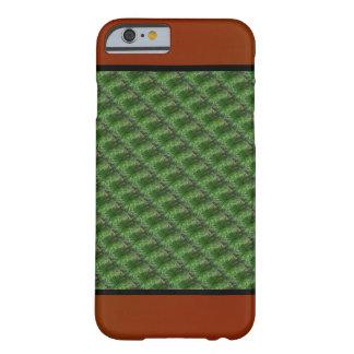 緑のマツ針パターン BARELY THERE iPhone 6 ケース