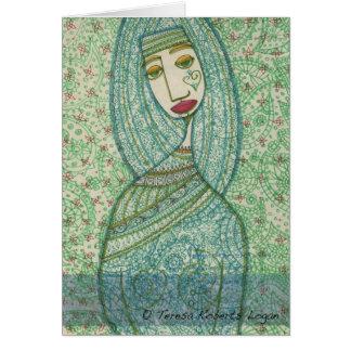 緑のマドンナ カード