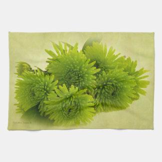 緑のミイラ キッチンタオル