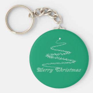 緑のメリークリスマスKeychain キーホルダー
