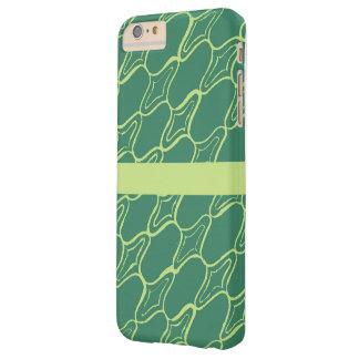 緑のモトッコ人粗かったプリント BARELY THERE iPhone 6 PLUS ケース