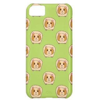 緑のモルモットパターン、 iPhone5Cケース