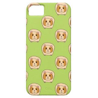 緑のモルモットパターン、 iPhone SE/5/5s ケース